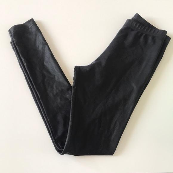 72deb5a89472d9 American Apparel Pants - American apparel black wet look leggings sz small